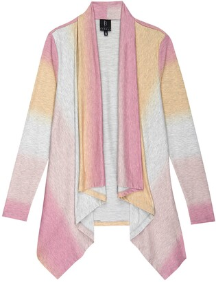 Bobeau Amie Ombre Open Front Cardigan