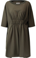 MM6 MAISON MARGIELA Ruched Crepe De Chine Mini Dress
