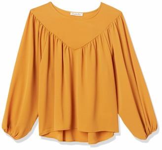 Forever 21 Women's Plus Size Seersucker Shirred Top