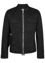 Helmut Lang Black Printed Denim Jacket