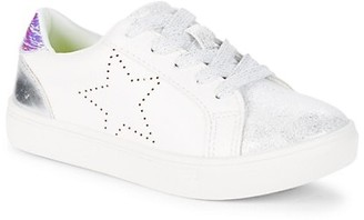 Steve Madden Girl's Star Distressed Sneakers