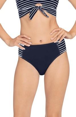 Robin Piccone Sailor High Waist Bikini Bottoms