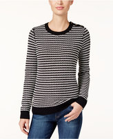 Charter Club Petite Striped Sweater, Only at Macy's