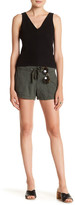 UNIONBAY Candace Linen-Blend Short (Juniors)