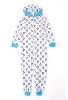Intimo Waddles Hooded Footless Bodysuit - Girls