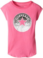 Converse Dropped Shoulder Tee (Toddler/Little Kids)