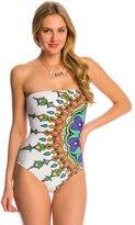 Trina Turk Swimwear Kasbah Bandeau One Piece Swimsuit 8142868