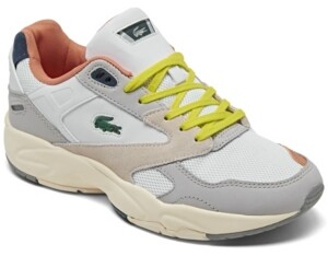 Lacoste Women's Storm 96 Low Casual Sneakers from Finish Line