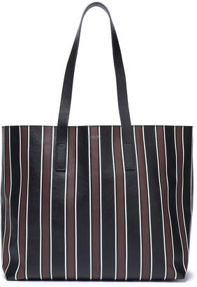 Michael Kors Striped Leather Tote