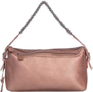 Fendi Pink Selleria Leather Top Handle Bag
