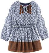Nannette Girls 4-6x Printed Chiffon Dress
