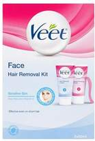 Veet 2 Step Facial Hair Cream Kit