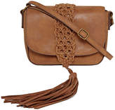 Asstd National Brand Macrame Crossbody Bag
