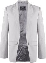 Unconditional cutatway blazer - men - Silk/Polyester/Wool - XS