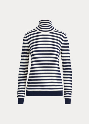 Ralph Lauren Striped Turtleneck Sweater