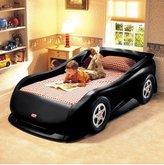 Little Tikes Race Car Twin Bed - Black