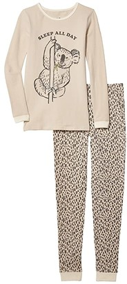 Cotton On Ethan Long Sleeve Pajama Set (Little Kids to Toddler/Little Kids/Big Kids) (Rainy Day/Sleep All Day) Boy's Active Sets