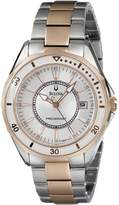 Bulova Women's 98M113 Winter Park Two tone bracelet Watch
