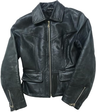Dna Green Leather Jacket for Women