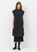 Rachel Comey black kenton fringe stripe vest