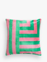 John Lewis & Partners Corner Stripe Cushion