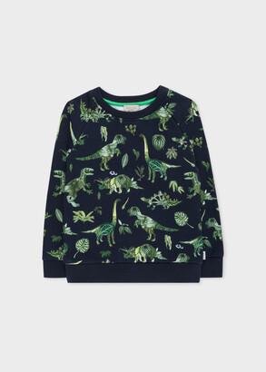 Paul Smith 8+ Years 'Botanical Dino' Print Sweatshirt