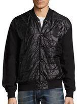 PRPS Mailbox Waffle-Sleeved Jacket