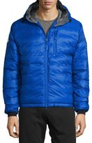 Canada Goose PBI Down-Fill Lodge Hoodie Jacket, Royal Blue
