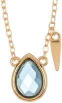 Melinda Maria Jacob London Blue Topaz Pendant Necklace