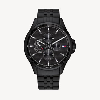 Tommy Hilfiger Blue Ion-Plated Multifunction Watch