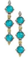 Konstantino Women's 'Iliada' Triple Drop Earrings