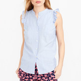 J.Crew Factory Sleeveless ruffle tank top