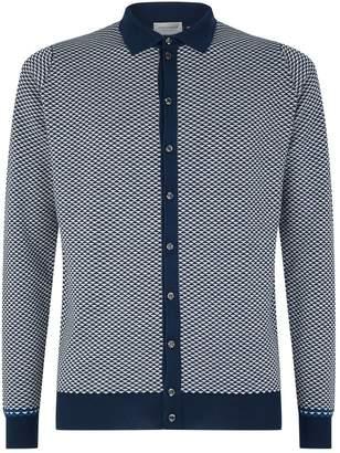John Smedley Polo Shirt Cardigan
