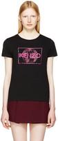 Kenzo Black Logo World T-shirt