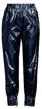 Robert Rodriguez Women's Olympia Metallic Cropped Track Pants