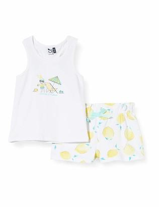 3 Pommes Baby Girls' 3q37012 Debardeur+Short Clothing Set