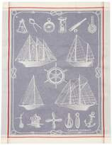 Garnier Thiebaut Garnier-Thiebaut Bateaux Tor Kitchen Towel (Set of 4)