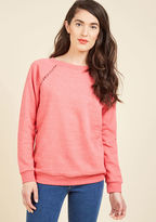 ModCloth Maximum Relaxation Sweatshirt in Reef in 4X