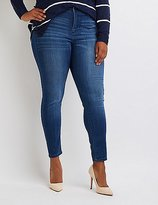 Charlotte Russe Plus Size Cello Medium Wash Skinny Jeans