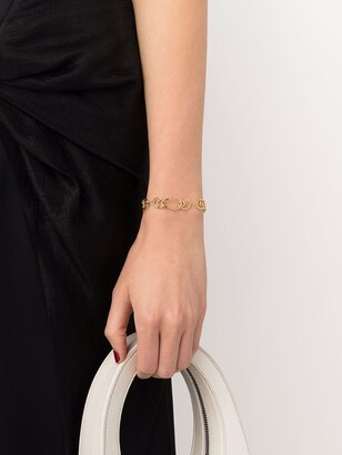 BONVO 18kt gold-plated silver Gaia bracelet