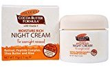 Palmers Moisture Rich Night Cream with Retinol for Overnight Renewal, 2.7 oz.