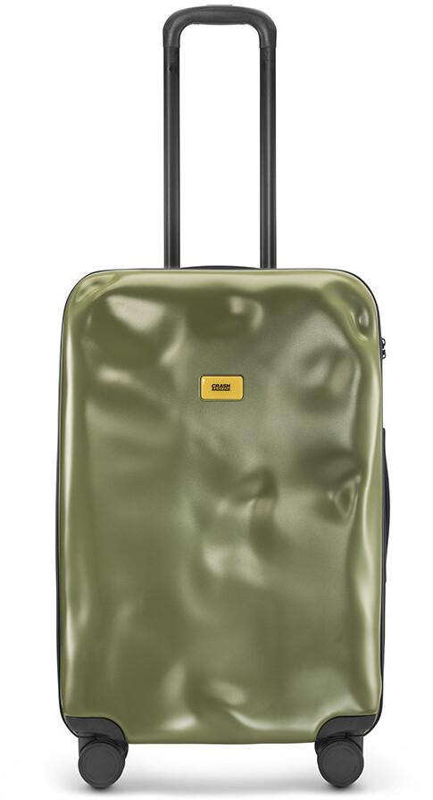 CRASH BAGGAGE Icon Suitcase - Olive - Medium