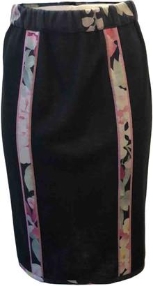Leonard Black Silk Skirts