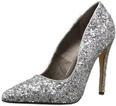 Michael Antonio Women's Lamiss-Glitter Dress Pump