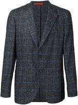 Isaia checked blazer - men - Polyamide/Wool/Alpaca - 58