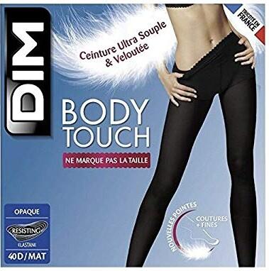Dim Women's Bodytouch Opaque Tights Black (Noir) 2 (Manufacturer size: 2)