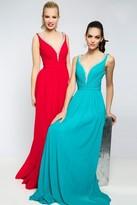 Jovani Embellished V-neckline with Scoop Back Evening Dress JVN20391