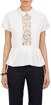 Carven WOMEN'S PEPLUM LACE TOP