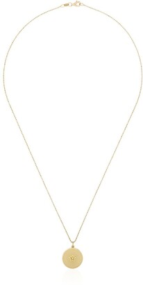 Andrea Fohrman 18kt gold Star diamond necklace