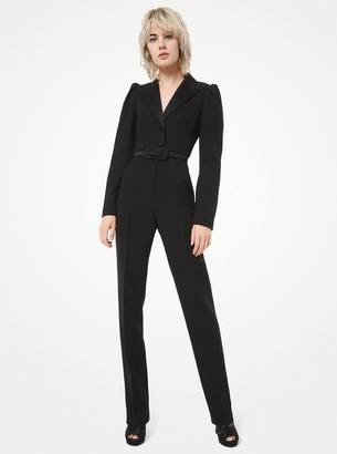 Michael Kors Collection Double Crepe-Sable Jumpsuit